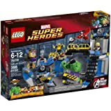 LEGO Superheroes 76018 Hulk Lab Smash