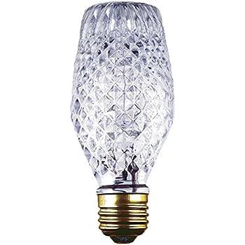 Halogen Vanity Light Bulbs : GE Lighting 16774 40-Watt Halogen Faceted G25 Vanity Light Bulb, 1-Pack - - Amazon.com