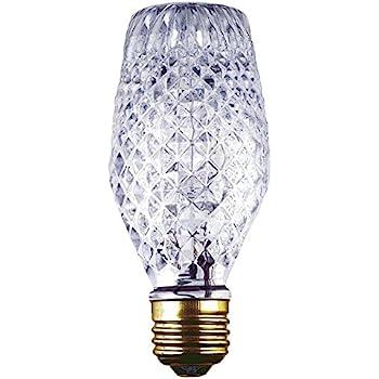 GE Lighting 16774 40-Watt Halogen Faceted G25 Vanity Light Bulb, 1-Pack - - Amazon.com