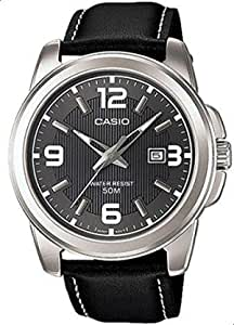Casio Casual Watch For Men Analog Leather - MTP-1314L-8AV
