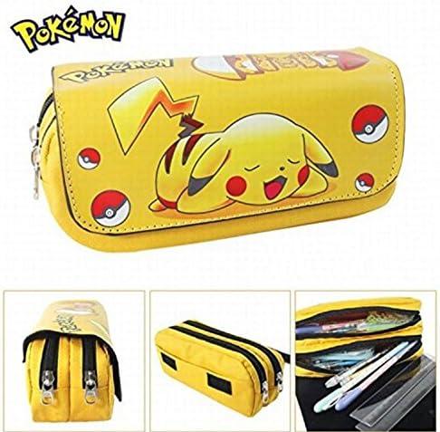 Kids Craze UK Trousse à deux compartiments Motif Pikachu Pokémon: Amazon.es: Oficina y papelería