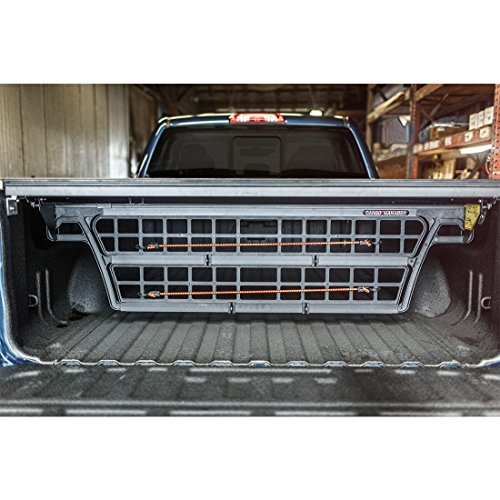 Roll N-lock Cargo (Roll-N-Lock CM220 Cargo Manager Rolling Truck Bed Divider for 2014-2018 Silverado & Sierra 1500 | Fits 5.8' Bed)