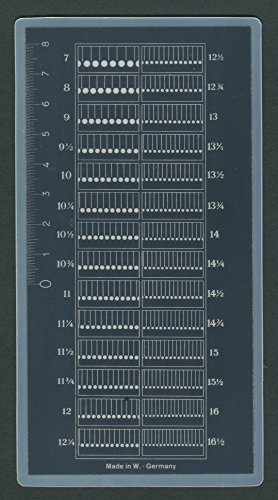 Lighthouse Perforation Gauge by LightHouse