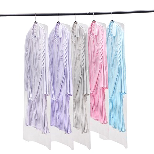 Plastic Garment - Voilamart 100 Pack Garment Bag Transparent 23.6