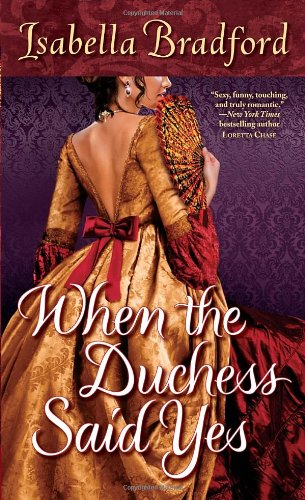 book cover of When the Duchess Said Yes