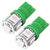 cciyu 7 Pack Green LED Bulb Lights Interior Package Kit Replacement fit for Dodge Challenger 2008 Up