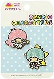 Pioneer Sanrio <Little Twin Stars> Iron adhesive applique B-B81