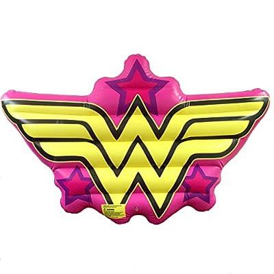 Edge Brands Wonder Woman Logo Pool Float: Toys & Games