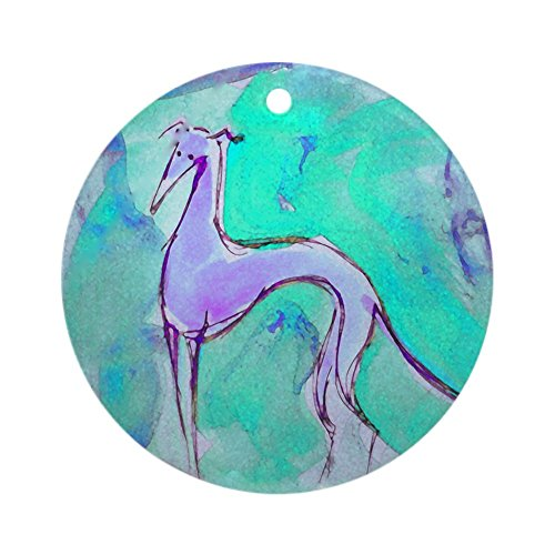 CafePress Blues Hound Ornament (Round) Round Holiday Christmas Ornament
