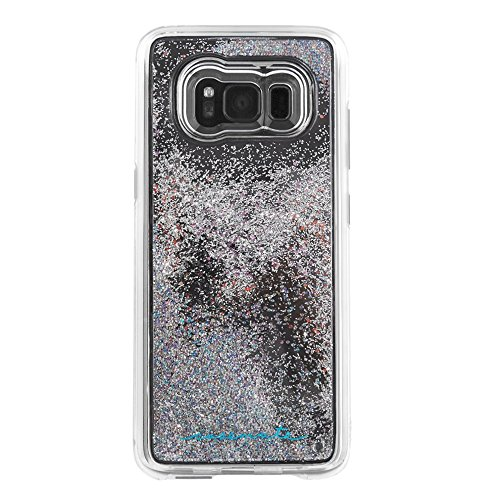 Price comparison product image Case-Mate Samsung Galaxy S8+ Case  - Waterfall Series - Sparkle Glitter Fashion Case - Iridescent Diamond - Military Drop Protection