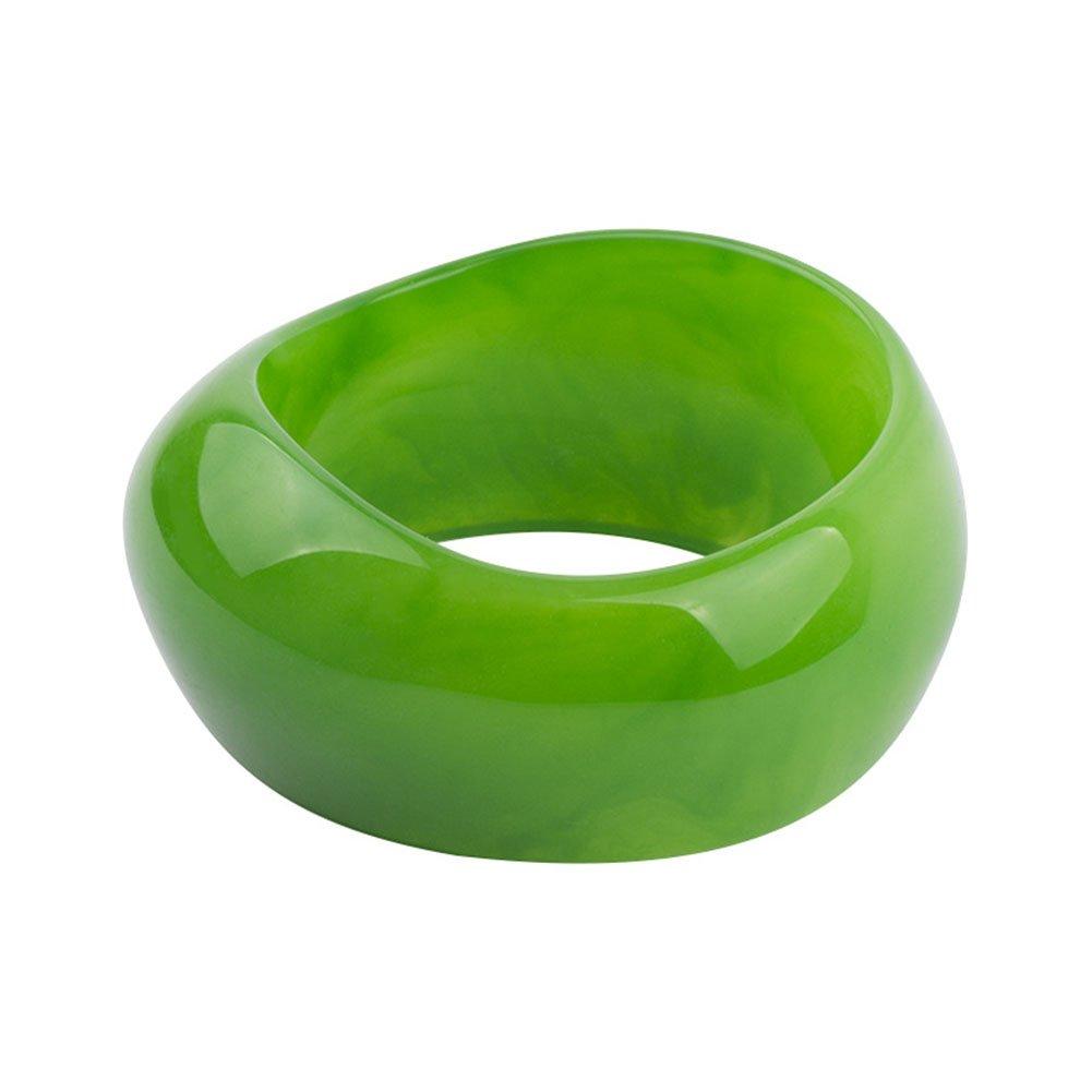 TIANMI Women Plastic Acrylic Bangle Cute Color Bracelet for Girls