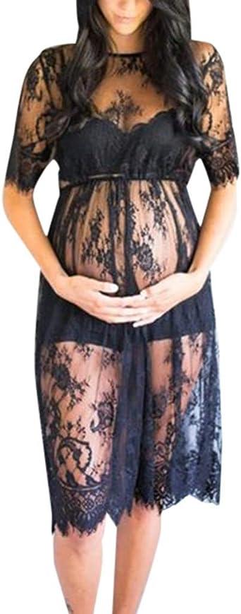 Vestido para Mujeres Embarazadas, sin Hombros, Moda Sexy, Manga ...