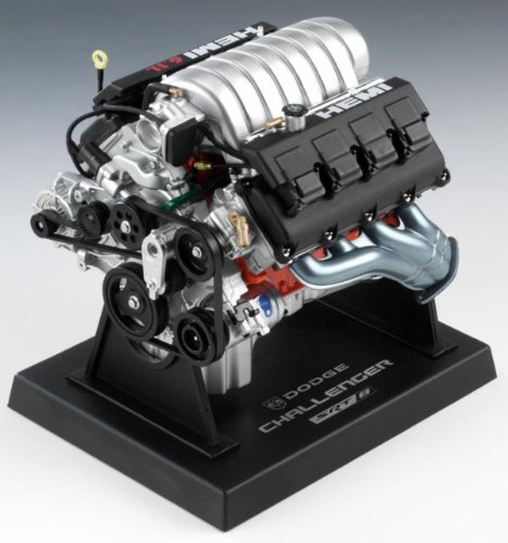 Liberty Classics 84033 6.5 x 5 x 6.5 1: 6 Engine - Dodge Challenger SRT8 HEMI 6.1L from Liberty Classics
