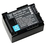 Everydaysource Compatible With CANON BP-808 Li-Ion Battery [Decoded]