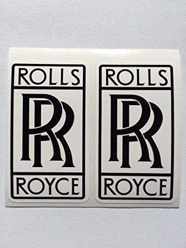 2 Rolls Royce Die Cut Decals by SBD DECALS