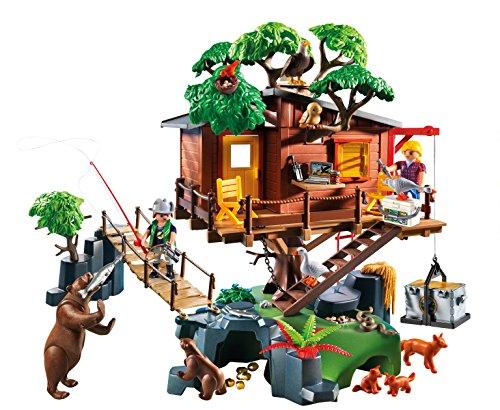 playmobil 5557 cabane des aventuriers dans les arbres la caverne du jouet. Black Bedroom Furniture Sets. Home Design Ideas