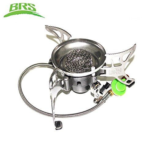 BRS BRS-15 Super Windproof Split Camping Picnic Cooker Gas Stove Auto ignition Infrared Heating Roasting Review