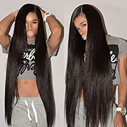 "Brazilian Hair 4 Bundles 24"" 26"" 28"" 30"" Remy 8A Unprocessed Virgin Straight Human Hair Natural Black Weave Bundles Grace Length Brazilian Straight Hair"