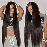 "8A Remy Brazilian Virgin Hair Straight 20"" 22"" 24"" 26"" Mink Human Hair 4 Bundles Deals 100% Unprocessed Brazilian Straight Hair Extensions Natural Color Weave Bundles"