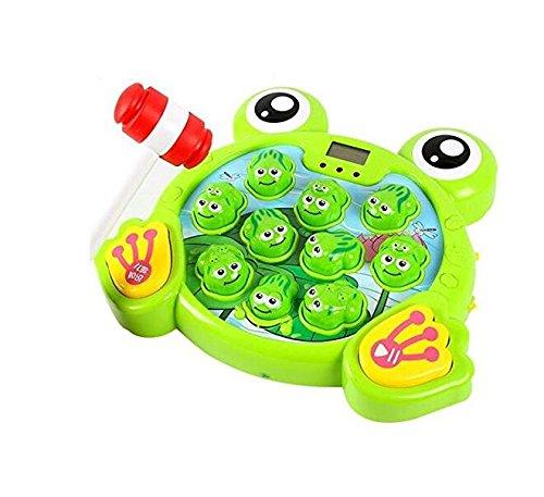 Upstudio Gran diversió n Creative Large Music Light Puzzle Frog Jugar Hamster Game