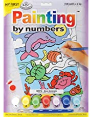 Royal & Langnickel My First Painting by Number Sea Animals Designed Painting Set