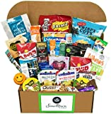 Keto Snacks Healthy Care Package - 25 Count Gift Box - The All In One, Low Carb, Ketogenic, Paleo Kit With A Huge Variety of To Go Foods