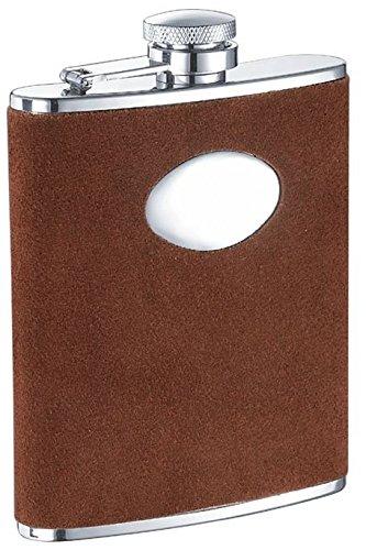 Leather 6 Oz Hip Flask - 7