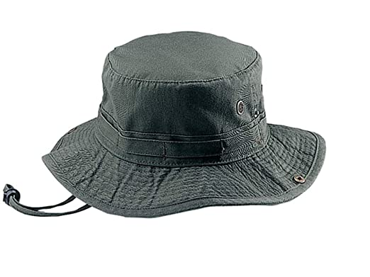 049c43d615dc9 Amazon.com  MG Fishing Hiking Outdoor Hat - Olive  Clothing