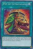 Yu-Gi-Oh! - Pot of Extravagance - SAST-EN067 - Savage Strike - First Edition - Secret Rare