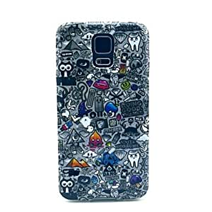 Mini - Popular Cartoon Pattern TPU Soft Case Cover for Samsung Galaxy S5 I9600