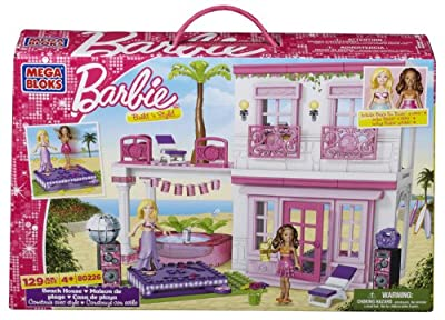 Mega Bloks - Barbie - Build 'n Style Beach House