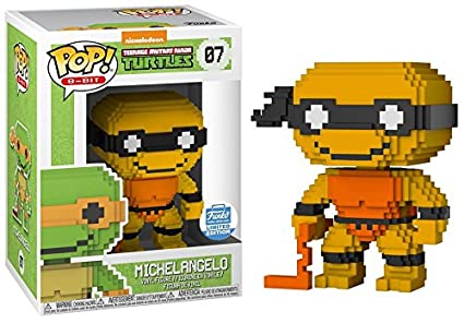 8-Bit POP: Teenage Mutant Ninja Turtles - Neon Michelangelo