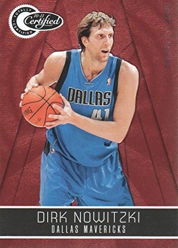 2010-11 Totally Certified Red #80 Dirk Nowitzki /499 Dallas Mavericks ()