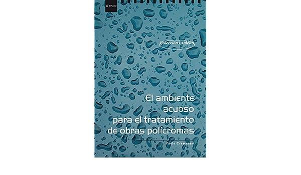 El ambiente acuoso para el tratamiento de obras polìcromas ...