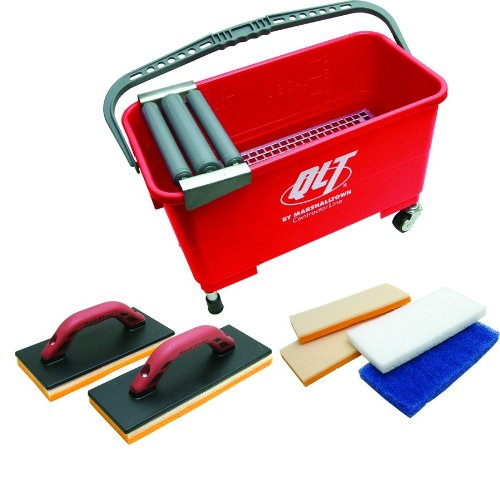 QLT By MARSHALLTOWN DGS91 Deluxe Grout System (And Equipment Grout Tile Cleaning)