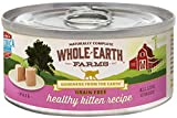 Merrick Whole Earth Farms Grain Free Wet Cat Food – Real Healthy Kitten – 5 Oz – 24 Pk