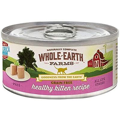 Merrick Whole Earth Farms Grain Free Wet Cat Food - Real Healthy Kitten - 5 Oz - 24 Pk
