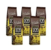 Cafe 1820 Molido - Costa Rica Gourmet Ground Premium Coffee - 17.6 oz (500 gr) 5 Pack