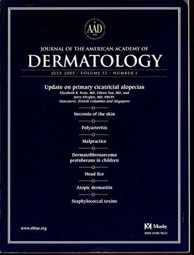 Journal of the American Academy of Dermatology - July 2005 - volume 53 – number 1