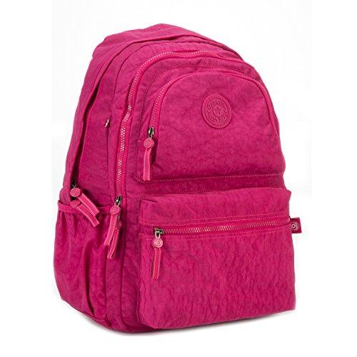 Femme Université Sac Foino 2 à pour Léger Collège Sport de École Backpack Dos Sac de Voyage Sac rouge Loisir Bandoulière Cours Sac Mode Sac Sacoche 8ppqda