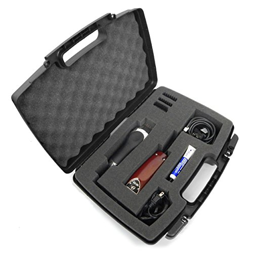 Price comparison product image CLIPSAFE Buzzer , Clipper , Trimmer Hard Organizer Case for Stylist or Barber Fits Oster Classic 76 , Wahl , Andis and More or Cordless Clippers , Blades , Scissors , Comb and Hair Accessories