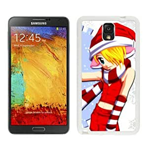 Fashion Style Merry Christmas White Samsung Galaxy Note 3 Case 6
