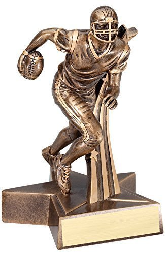 Male Football Star Resin Trophy - Fantasy Award (Football Resin Trophies)