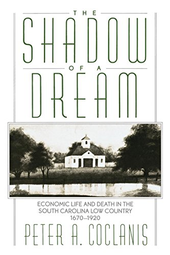 The Shadow of a Dream: Economic Life and Death in the South Carolina Low Country, 1670-1920