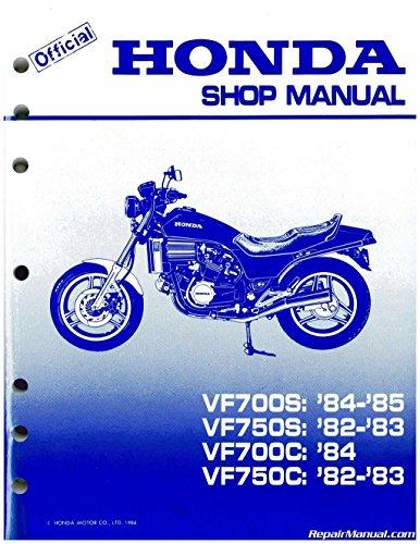 61MB004 1982 - 1985 Honda VF700C Magna, VF750S V45 Sabre Motorcycle Service Manual