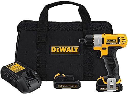 DEWALT DCF610S2 12-Volt Max 1 4-Inch Screwdriver Kit