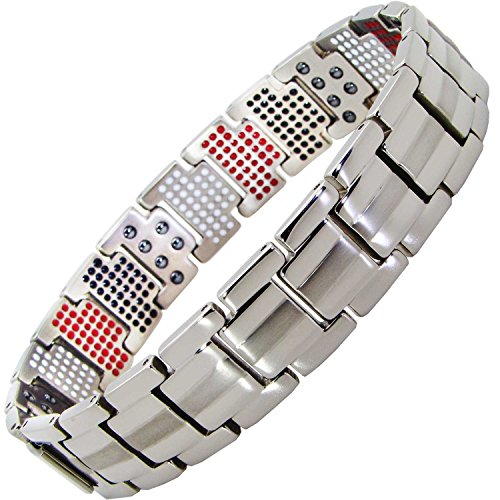 Titanium Magnetic Bracelet Elements Arthritis