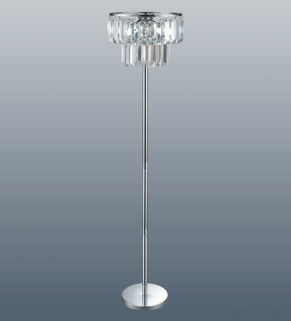 Chichester Acrylic Chandelier Floor Lamp: Amazon.co.uk: Lighting