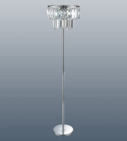 Chichester acrylic chandelier floor lamp amazon lighting chichester acrylic chandelier floor lamp mozeypictures Images