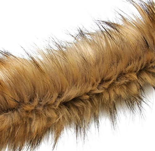 (Faux Fur Trim Brown Fur Trim, Soft Fur, Fur Stripe, Furry Stripe, Fur Long)